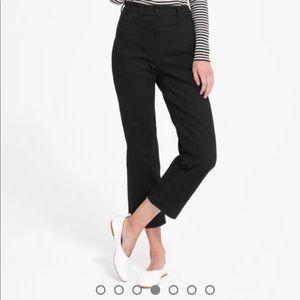 Everlane straight leg crop pants